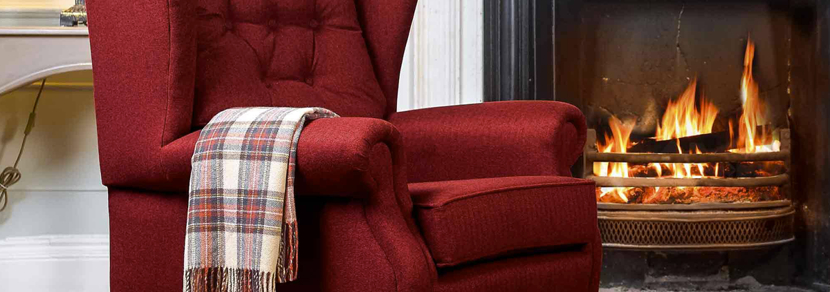 Fabric High Seat Chairs