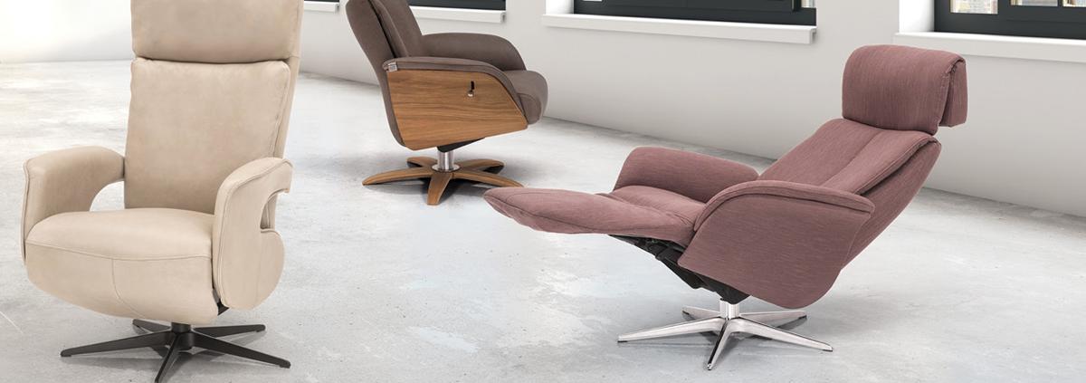 Fabric Swivel Chairs